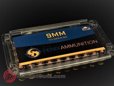 Notjustguns com | FENIX AMMUNITION 9MM 115 GRAIN FULL METAL JACKET