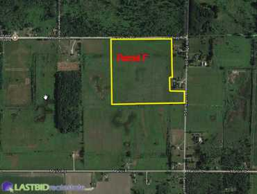 Parcel F - Approx. 38 Acres of Vacant Land in Au Gres, MI