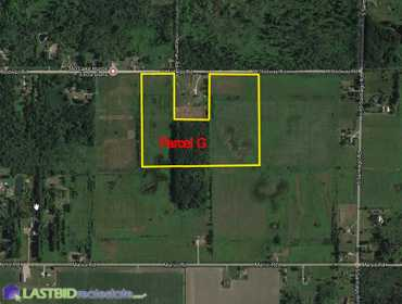 Parcel G - Approx. 40 Acres Vacant Land with Ponds in Au Gres, MI