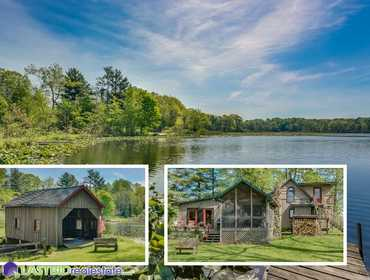 LASTBIDrealestate com | 50 Acre Homestead with Campground