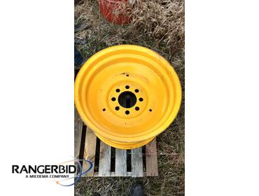 "JCB Backhoe 24"" Rear Wheel Rim"