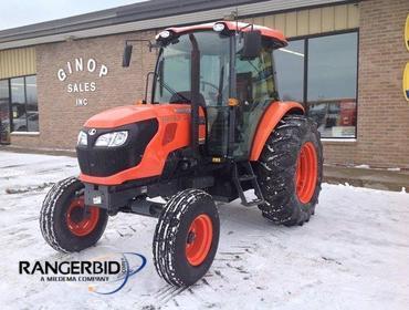 RangerBid com | 2013 Kubota M8560HFC Tractor