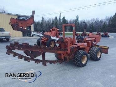 RangerBid com | Ditch Witch R40 Trencher 402421