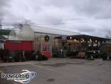 (1) De Cloet Greenhouse, 48 x 40, gutter connected, 12' high gutters, poly carbonite side wall,...