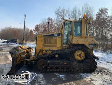 (1) 2005 Caterpillar D6NXL Dozer, 4172.3 hours, 6 way blade, S/N: AKM01678. One Owner, Owned and...
