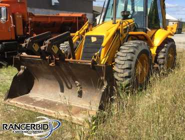 2000 JCB 214S 4WD Backhoe Loader