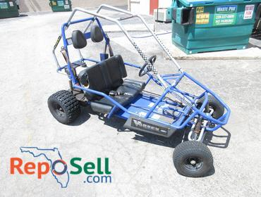 Reposell com | Manco Powersports 2-Seater GO Kart with 6 5HP Motor