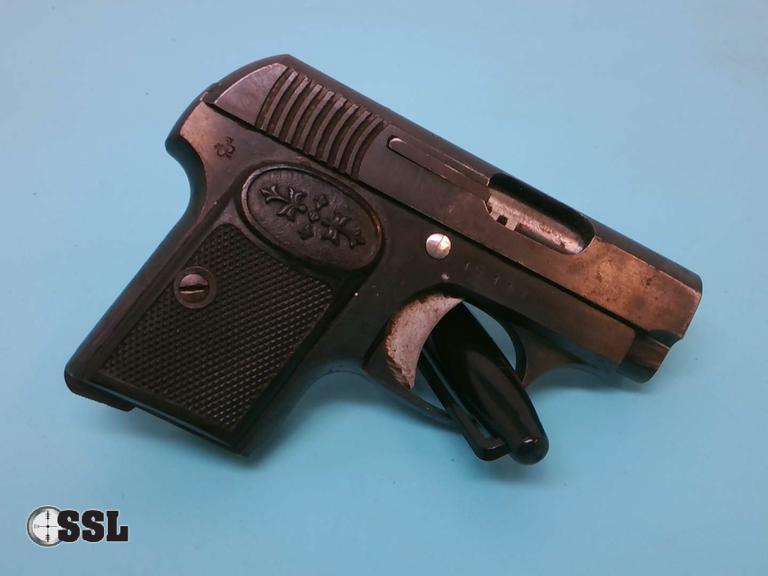 ssl firearms looking glass 25 caliber pistol