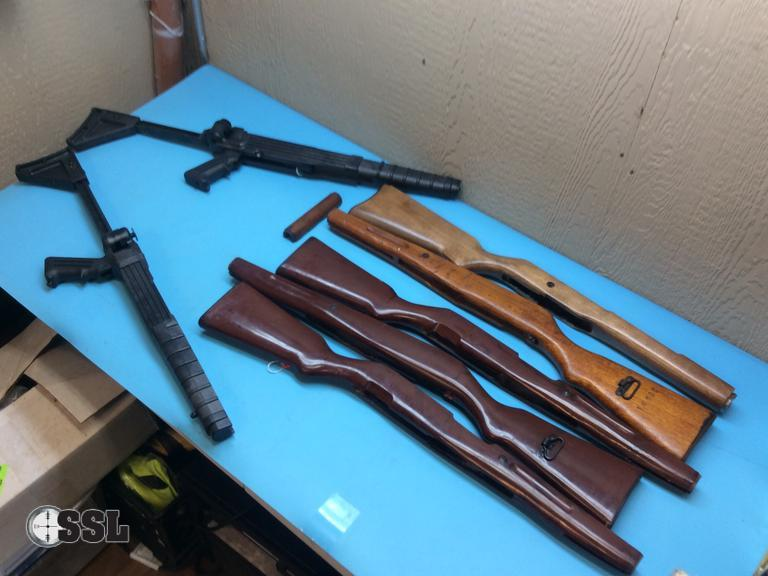 M1 garand synthetic stock set