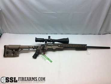 SSL Firearms | Remington 700 Heavy Barrel  308 W/ AB Arms Chassis