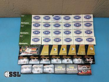 SSL Firearms | Large lot of assorted 9mm ammo/lives rounds