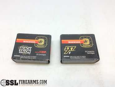 ssl firearms lot of 40 live rounds of winchester ssl firearms