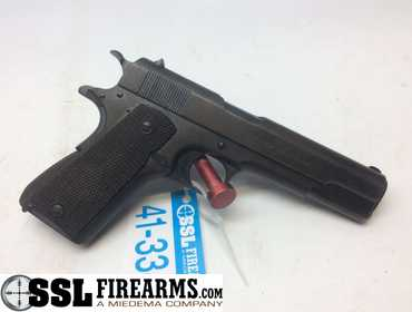 SSL Firearms | Colt 1911 U S Army  45 Pistol