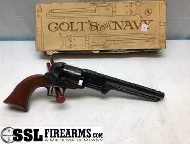 SSL Firearms | Colt 1851 Navy Black Powder  36 Caliber