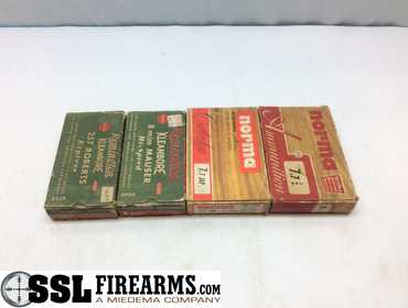 SSL Firearms | Assorted lot of ammo including: (20