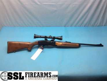 Remington Woodsmaster Model 742 30-06 SPRG Rifle W/ Scope
