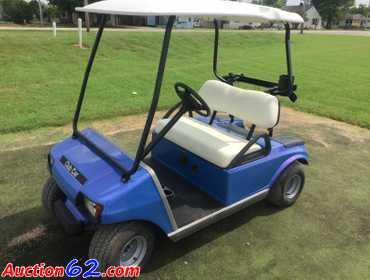 Auction62 Com 2005 Club Car 48 Volt Electric