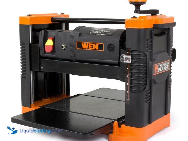 "WEN 15 amp 12.5"" Corded Thickness Planer, 18000 rpm, depth adjustment, Model #: 6550.  Unused,..."