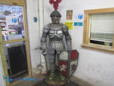 Six foot tall knight of Armour. Vintage.