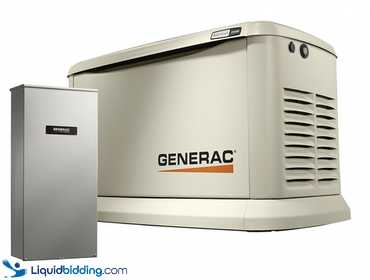 Generac Guardian 22KW Home Backup Generator (Model 7043). Features True Power Technology, purpose...