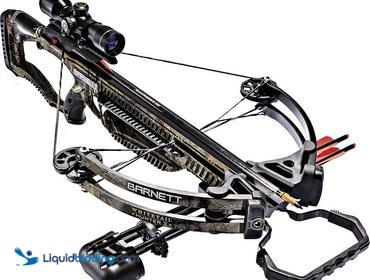 Barnett Whitetail Hunter II Crossbow.  350 fps, realtree xtra 150 pound draw weight, trigger tech...