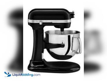 Liquidbidding Kitchenaid Professional 6000 Hd Ksm6573cob Stand