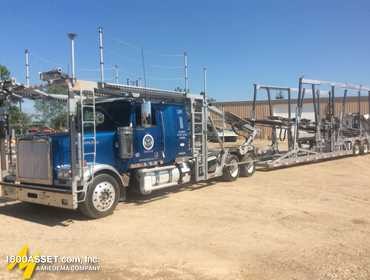2012 Western Star 4900FA Car Hauler Truck With Trailer 5KKHAEBG4CPBP7803