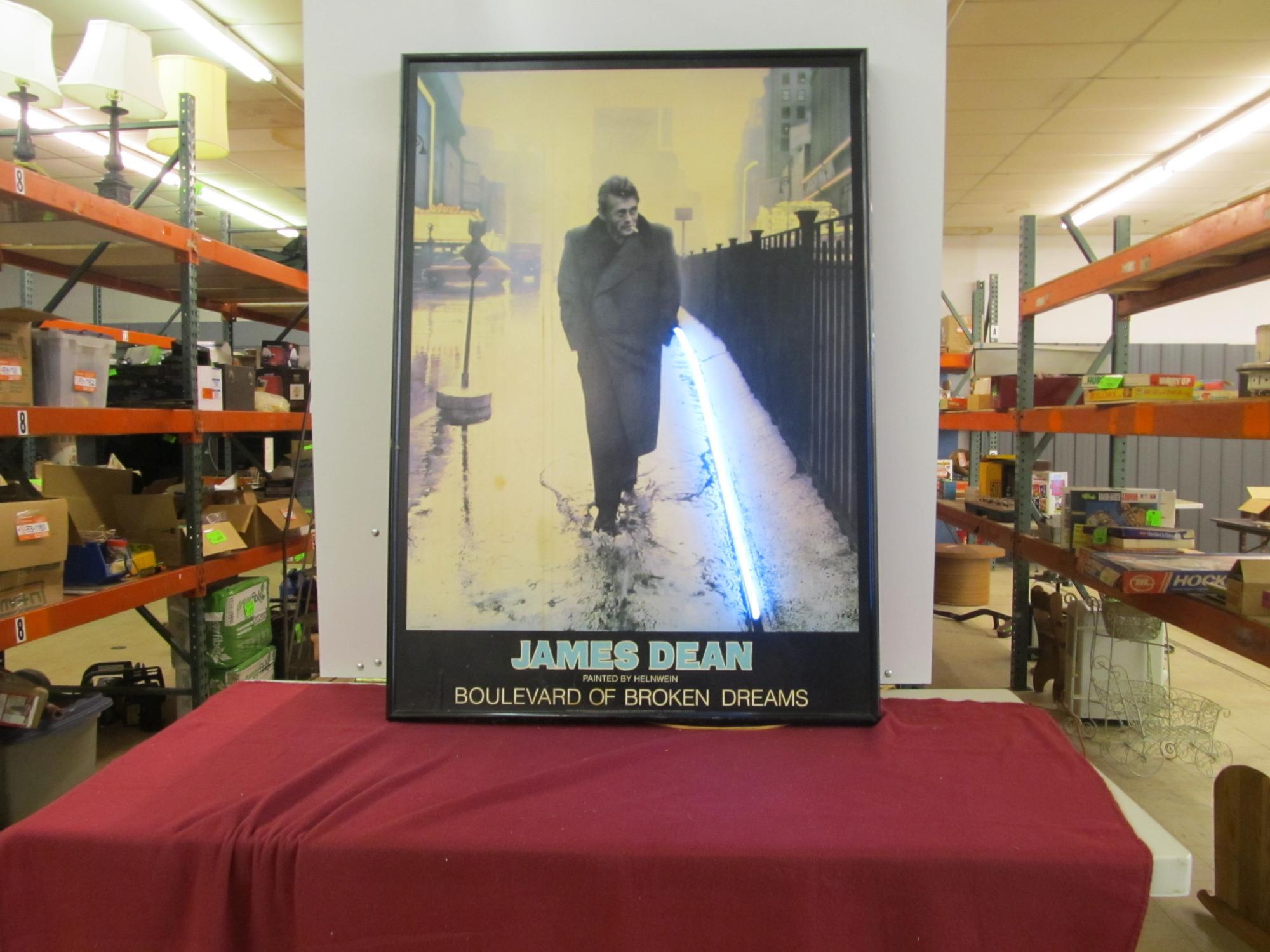 Ridofstuffcom James Dean Painted By Helnwein Boulevard Of Broken