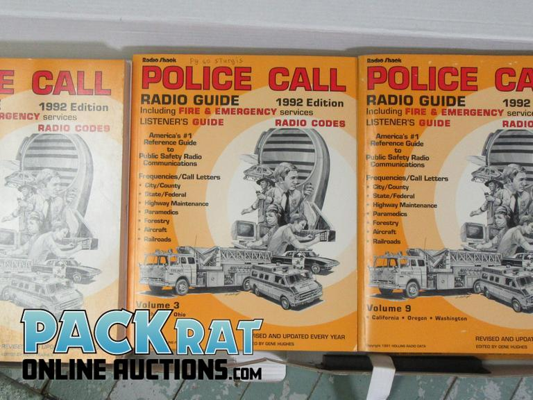 Pack Rat Online Auctions | 9 Police Call 1992 Vol  1-Vol 9