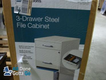 various colors b5bb7 a3ff6 All Done-Gotta Go   Space Solutions, 3 Drawer Steel File ...