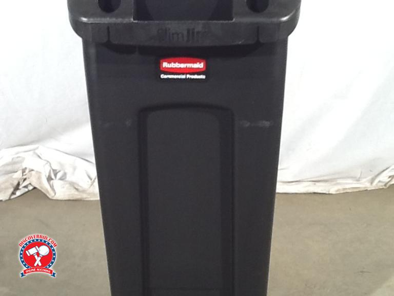 slim jim 16 gallon trash can new. Black Bedroom Furniture Sets. Home Design Ideas