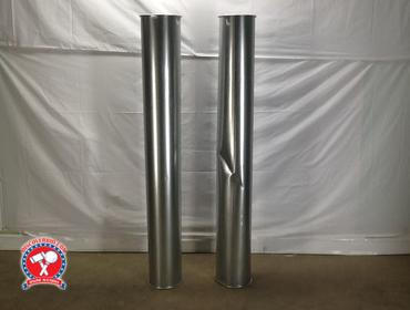 "DiscoverBid com | (2) NORFAB 8"" STEEL QUICK FIT DUCT"