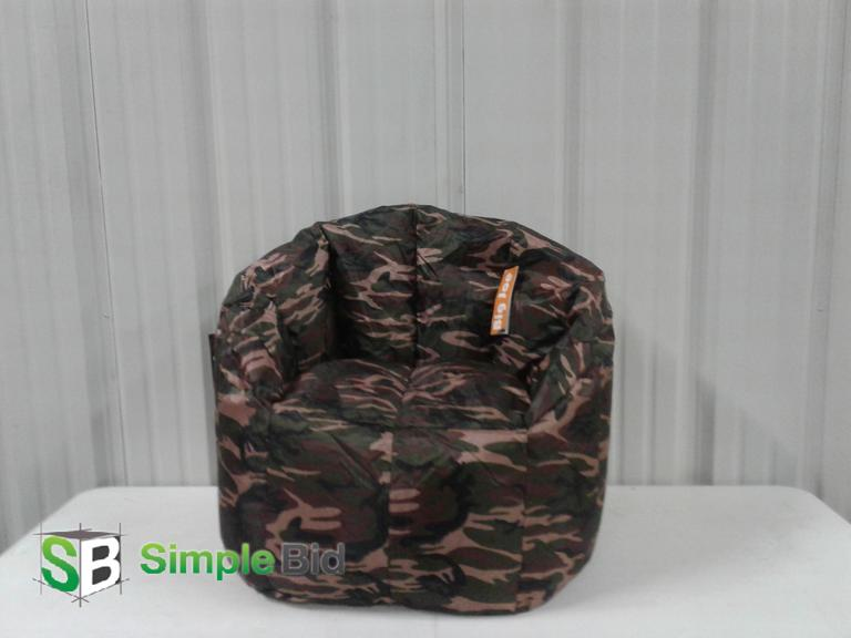 Remarkable Simplebid Inc New Camo Big Joe Bean Bag Chair Spiritservingveterans Wood Chair Design Ideas Spiritservingveteransorg