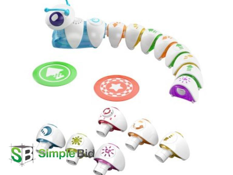 SimpleBid Inc  | New Fisher Price Think and Learn Code-A-Pillar Gift Set