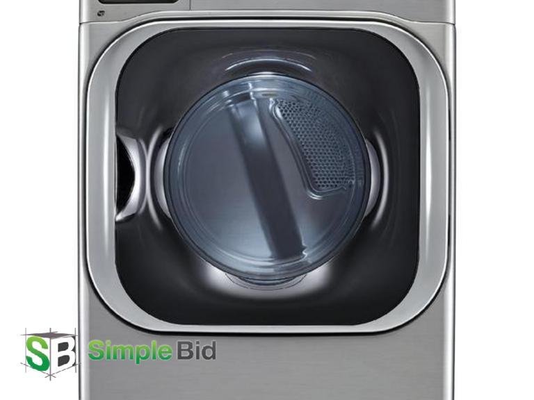 SimpleBid Inc  | LG SteamDryer Series DLEX8500V 29 Inch 9 0