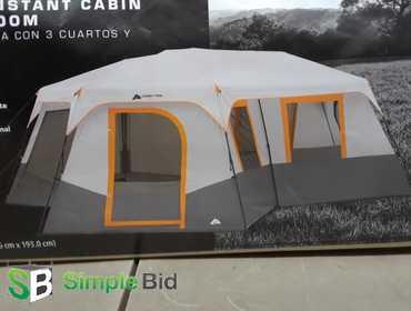 SimpleBid Inc  | Ozark Trail - 12 person, 3 room instant