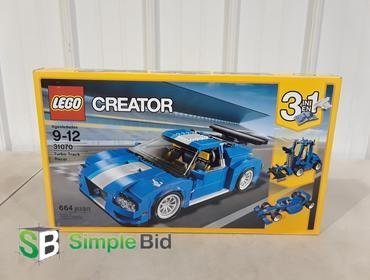 Simplebid Inc Lego Creator Turbo Track Racer 31070 664 Pieces