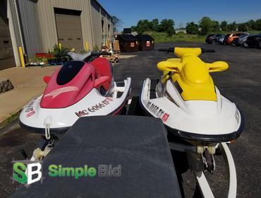 SimpleBid Inc  | Lot of (2) Seadoos - (1) 1997 Yamaha