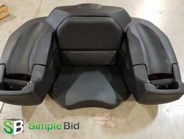 Simplebid Inc Camco Black Boar Atv Rear Lounger