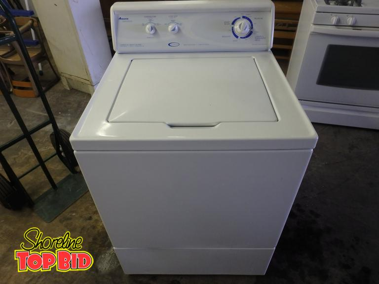Shoreline Top Bid | Amana Distinctions Commercial Quality Washer 2