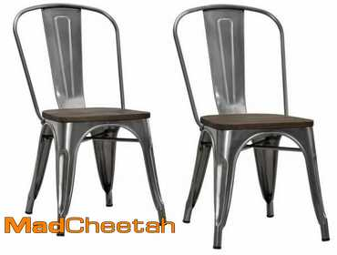 Incredible Madcheetah Com Dhp P Luxor Metal Counter Stools Set Of 2 Ocoug Best Dining Table And Chair Ideas Images Ocougorg