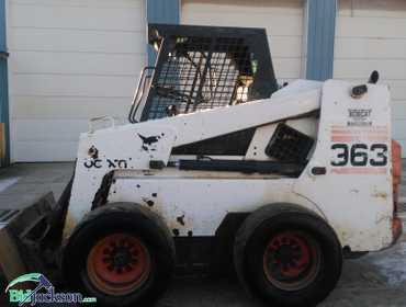 BidJackson com | 1999 BobCat Skid Steer Model 963 Reserve is