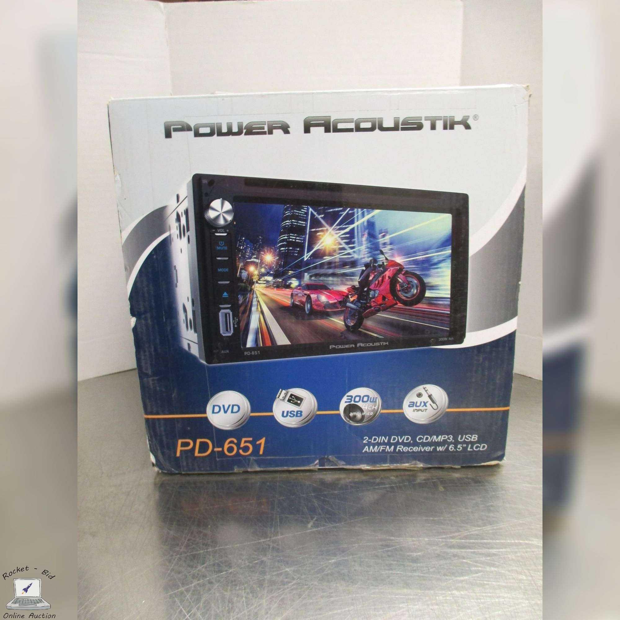 Power Acoustik Pd 651