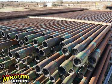 "New 2 7/8"" OD Pipe for Oil and Gas Exploration and Production.  45,760 lbs - Full Truck Load of..."